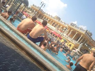 Bains Thermaux, EVG d'Enfer Budapest